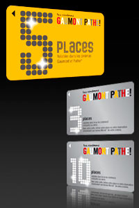 1 Pass 5 places de ciné